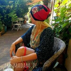 czapki etno czapka damska dziewczęca
