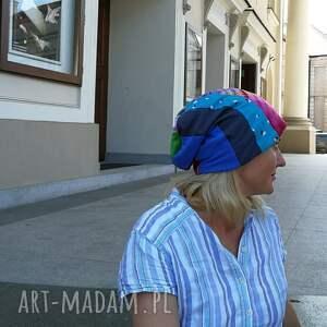 czapki: czapka damska etno boho wiosenna codzienna folk