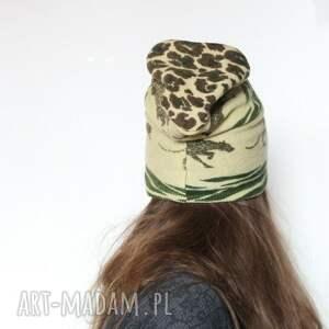 czapki kolorowa czapka damska wełniana