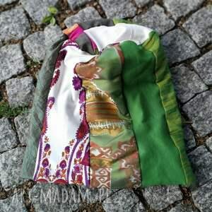 Ruda Klara czapki: - kolorowa kwiaty