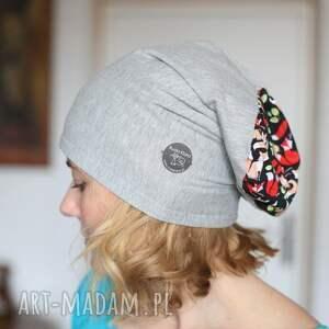 handmade czapki czapka damska dzianinowa mała