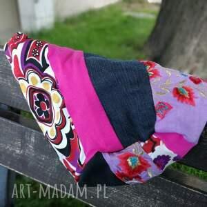 Ruda Klara czapki: patchwork