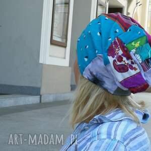 etno czapki czapka damska boho patchwork