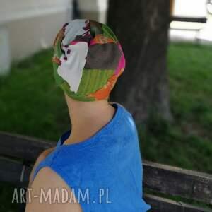 czapki: patchwork