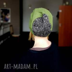 efektowne czapki czapka damska męska unisex bawełna