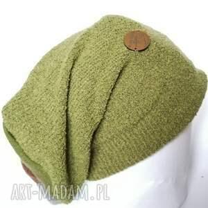 czapki smerfetka czapka damska dzianina wełniana