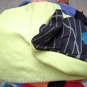czapki sportowa czapka damska limonkowa ciepła