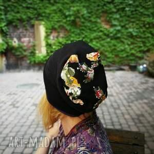 czapki styl czapka damska przejściówka bawełna