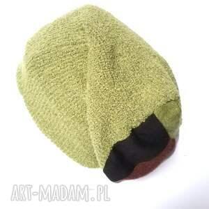 hand made czapki wełna czapka damska dzianina wełniana