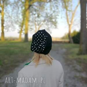 czapki wiosna czapka damska wiosenna czarna