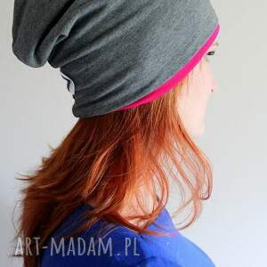 intrygujące czapki czapka dresowa dwustronna 2 w
