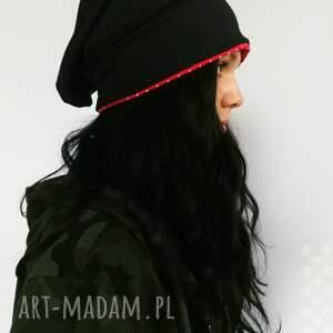 handmade czapki czapka dresowa smerfetka
