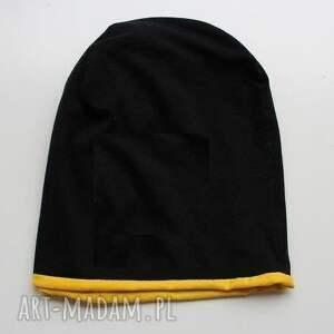 hand made czapki czapka dwustronna 2 w 1 dziecięca