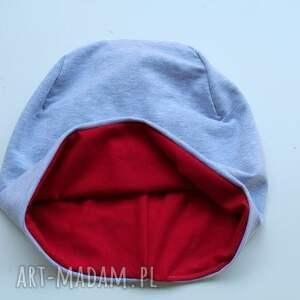 czapki dwukolorowa czapka dwustronna 2 w 1 dziecięca