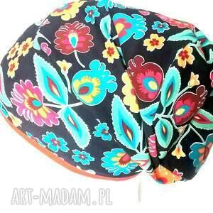 atrakcyjne czapki dzianina czapka dzianinowa ludowa mała