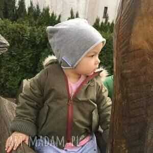 czapki beanie czapka dziecięca smerfetka