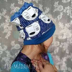 czapki chłopiec czapka dziecięca bawełniana