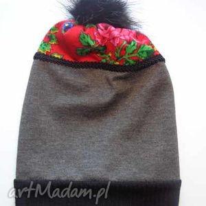 czapki: czapka Folk Design Aneta Larysa Knap góralskie