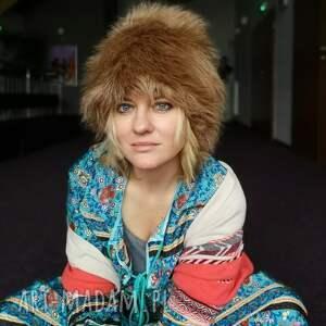 czapki czapka futrzana zimowa ciepła