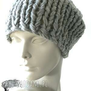 ręczne wykonanie czapki dziergana czapka #36