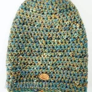 pomysł na świąteczny prezent ciepła czapka hand made no. 021 / beanie