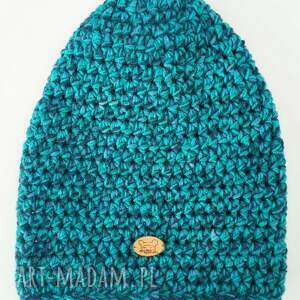 pomysł na świąteczne prezenty zimowa czapka hand made no. 022 / beanie
