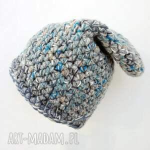 modne czapki ciepła czapka hand made no. 023 / beanie