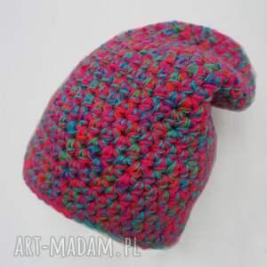 intrygujące czapki ciepła czapka hand made no. 037 / beanie