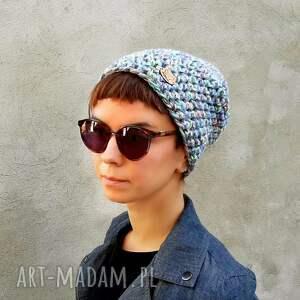 intrygujące czapki czapka beanie hand made no. 056 /