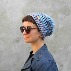 atrakcyjne czapki czapka krasnal hand made no. 058 - beanie