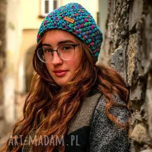 pomysł na świąteczny upominek czapka-na-prezent czapka hand made. 039 / beanie