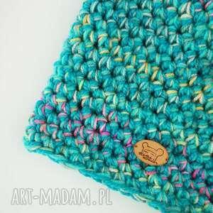 niepowtarzalne czapki na-szydełku czapka hand made no. 036 / beanie