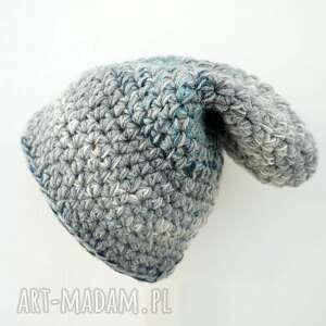 gustowne czapki na-szydełku czapka hand made no. 024 / beanie