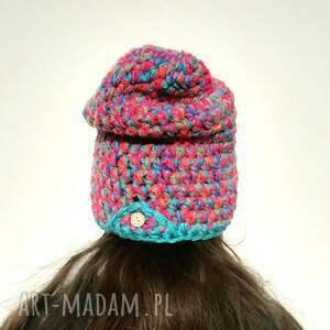 pomysł jaki prezent pod choinkę czapka hand made no. 055 / beanie