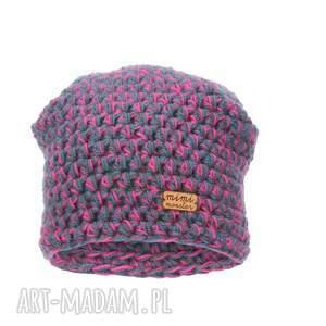 czapki czapka narciarska hand made no. 048 / beanie