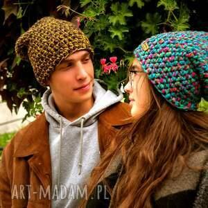 pomysł na świąteczny upominek czapka hand made. 039 / beanie