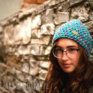 pomysł na świąteczny upominek prezent czapka hand made no. 039 / beanie