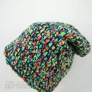 czapki ręcznie-wykonana czapka hand made no. 020 / beanie