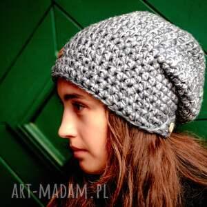 czapka-wełniana czapki czapka hand made no. 041 / beanie