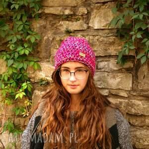 czapki czapka-wełniana czapka hand made no. 040 / beanie
