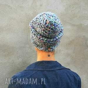 czapki czapka beanie hand made no. 056 /