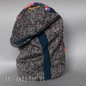 handmade czapki patchwork czapka