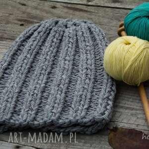 czapki wełna czapka handmade