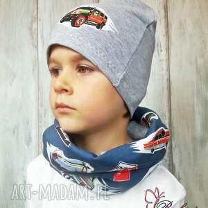 prezent czapki czapka komin dla chłopca