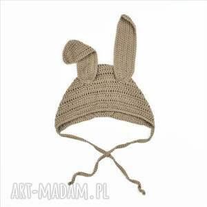 niekonwencjonalne czapki dziecięca czapka królik bawełniana