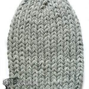 dziergana czapki czapka #36