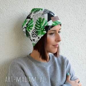eleganckie czapki czapka monstera kolorowa