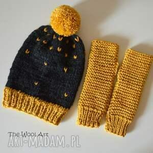 szare czapka