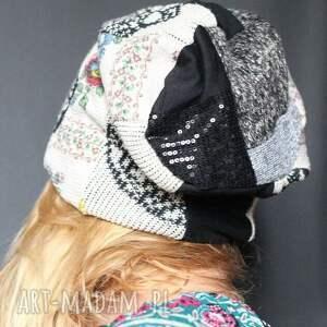 czapki czapka materiałowa na podszewce, 59cm 62cm
