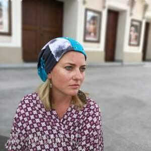 czapki czapka patchworkowa kolorowa damska